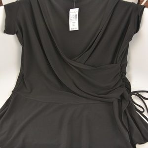 Dress Barn Black Dressy Top
